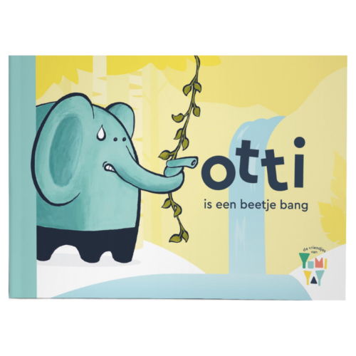 Otti is een beetje bang - cover